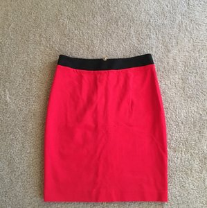 Trina Turk Skirt Red and black