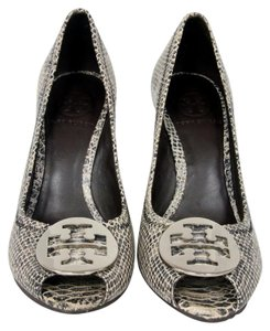 Tory Burch Miller Caroline Eddie Gray Wedges