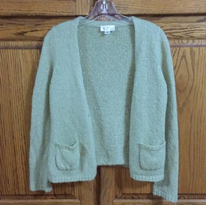 Ann Taylor LOFT Cardigan Lime Sweater