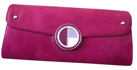 Rampage Deep Red/Burgundy Clutch