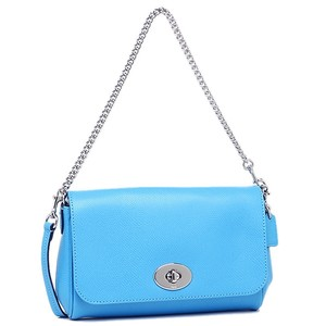 Coach Convertible Chain Turnlock Gift Box Shoulder Bag