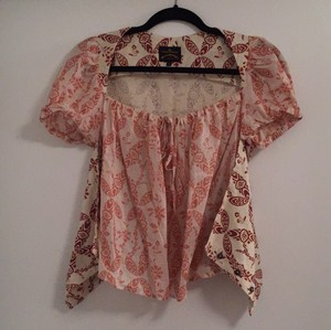 Vivienne Westwood Top White pink purple