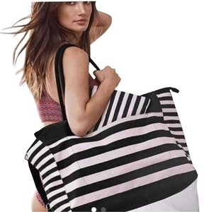 Victoria's Secret Tote in Black & Pink