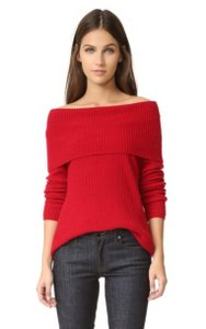 Joie Cashmere Off-shoulder Sweater