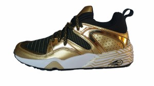 Puma Sport Running Fitness Gold black white Athletic