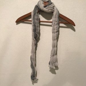 Other Gray Soft Wrinkle Scarf Shawl