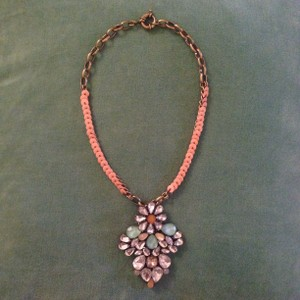 Anthropologie Statement pendant necklace
