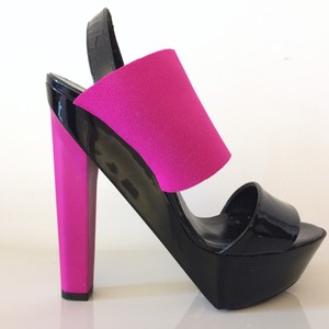 Pierre Hardy Black, pink Platforms