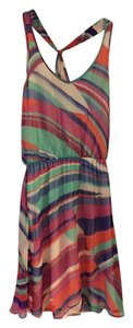 Ella Moss short dress Multi Colored Striped on Tradesy