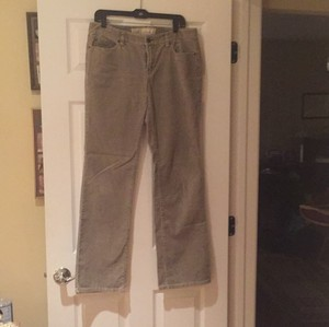 Ann Taylor LOFT Boot Cut Pants Taupe