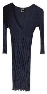 M Missoni short dress Blue Iris on Tradesy