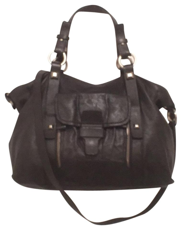 c38bffd4c NICOLI Soft Black Leather Satchel - Tradesy