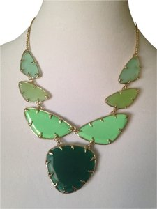 Kendra Scott Marisol Bib Green Necklace