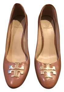 Tory Burch Wedge Damaged Almond Wedges