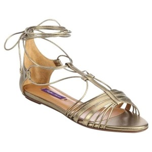 Ralph Lauren Mabelle Gold Sandals