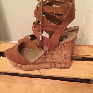 Guess Burnt rust Wedges
