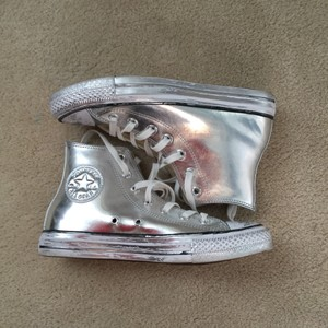Converse Metallic silver Athletic