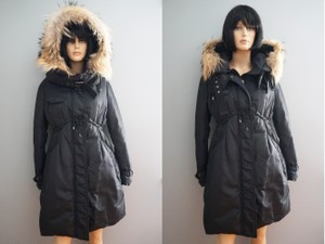 Moncler Fur Hood Down Coat