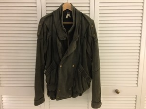 Free People Oversized Fleece Motorcycle Jacket