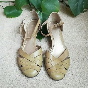 Naturalizer Green Wedges