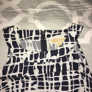 MICHAEL Michael Kors short dress Black and white, see pictures. on Tradesy