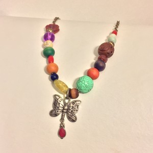 Lucky Brand Lucky Brand Mixed Beaded Necklace