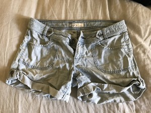 Anthropologie Shorts Blue