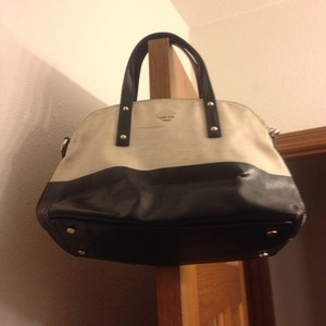 Kate Spade Satchel in Beige/ Black