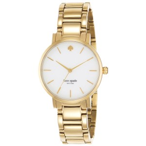 Kate Spade Women's Gramercy Gold-Tone Bracelet Watch, 34mm