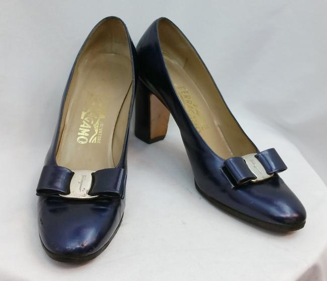 Item - Blue Patent Leather Aa Pumps Size US 8 Narrow (Aa, N)
