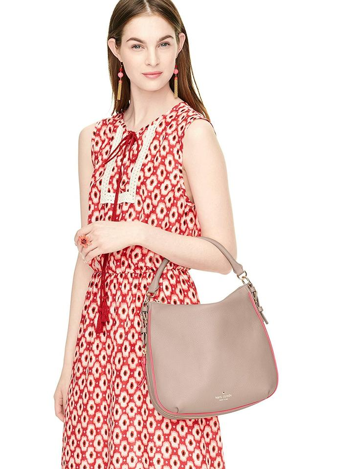25dcb777c3389 Kate Spade Cobble Hill Small Ella Leather Soft Pabbled Shoulder Bag Image  3. 1234