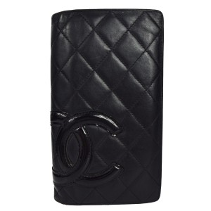 Chanel CC Quilter Cambon Wallet