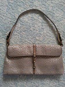 Coach Holidays Party Purse gold Clutch