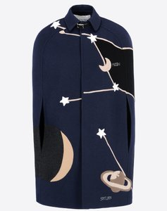 Valentino Cape Cosmo Star Coat
