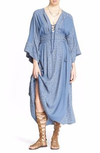 blue combo Maxi Dress by Free People