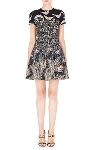 Valentino short dress Bird Kinit Floral on Tradesy