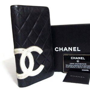 Chanel CC Quilted Cambon Wallet