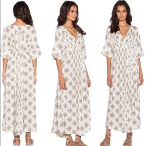 Vanilla Combo Maxi Dress by Free People