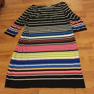 Shelby & Palmer Striped Casual Work Knit Dress