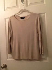 Geoffrey Beene Silk Cotton Crewneck Sweater