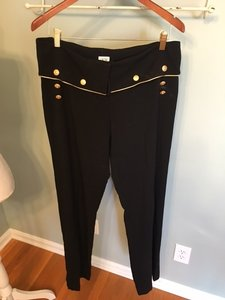 Cache Gold Relaxed Pants Black/Gold