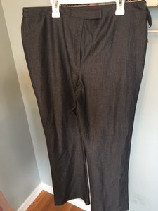 INC International Concepts Straight Pants Grey