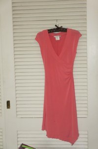 La Belle short dress coral pink on Tradesy