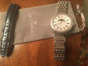 Michele Authentic Michele women's serein Diamond moon phase watch $1995
