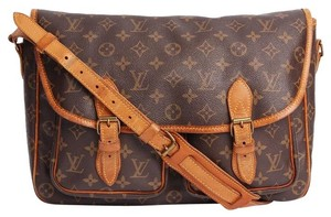 Louis Vuitton Sac Gibeciere Brown Messenger Bag