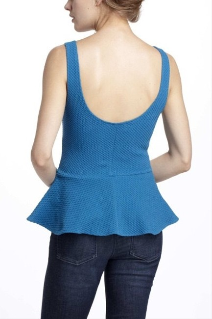 Anthropologie Top Blue Turquoise
