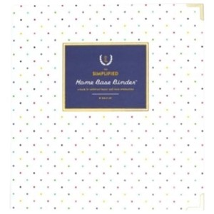 Emily Ley Home Base Binder