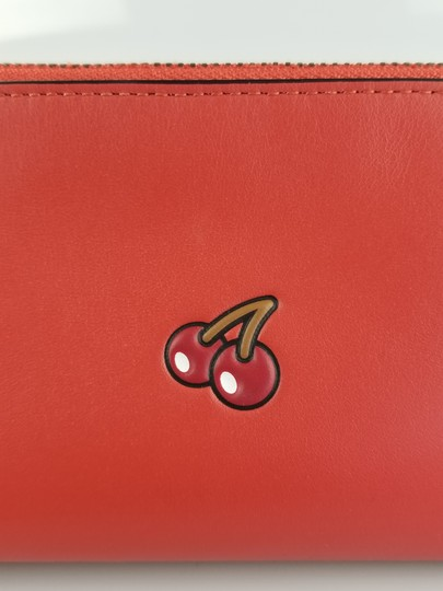 Coach PacMan Cherry Small Cosmetic Case Image 7