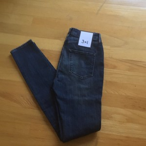 3X1 W3 Highrise New With Tags Nwt High Rise Skinny Jeans-Medium Wash