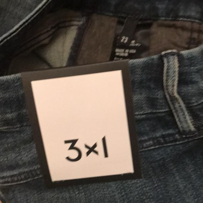 3X1 W3 Highrise New With Tags High Skinny Jeans-Medium Wash